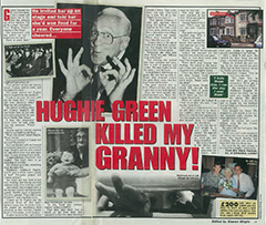 TaB Hughie green